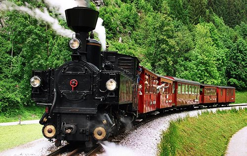 Zillertalbahn steam train